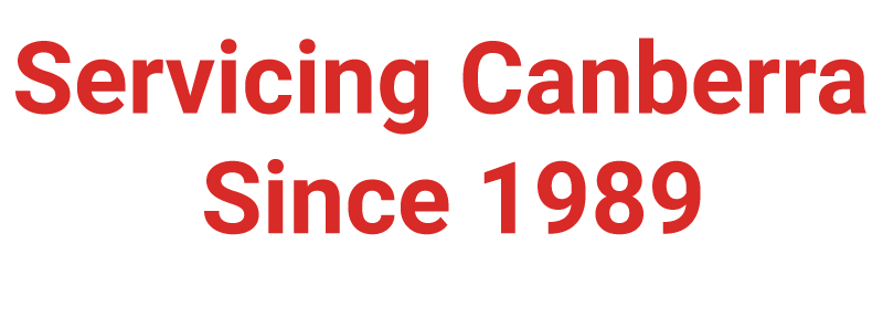 servicing canberra since 1989